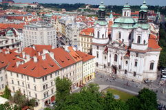 Prague, Czech Rep: St. Nicolas Church Royalty Free Stock Photography