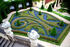 Prague, Czech Rep: Vrbtovska Gardens Stock Photography