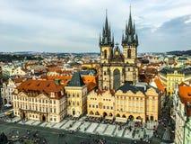 Prague stock image