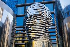 Sculpture `Metalmorphosis` by the Czech artist David Cerny Stock Image