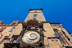 Prague, Czech Republic. Famous Astronomical Clock (Orloj) in Prague, Czech Republic Royalty Free Stock Images