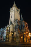Prague,Czech republic. Astronomical Clock on Old Town Hall in Prague Stock Image