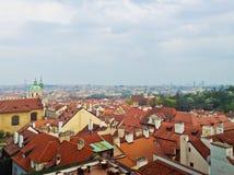Prague, Czech Republic. Aerial view of Prague, Czech Republic Stock Images