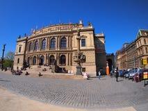 Prague, Czech Republic - April 25, 2015: Rudolfinum Stock Image