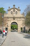 Vysehrad Gate Leopold Gate in PRAGUE, CZECH REPUBLIC Royalty Free Stock Images