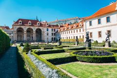 Wallenstein garden in Prague, Czech Republic
