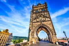 Prague, Czech Republic - Charles Bridge Royalty Free Stock Photography