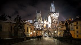 Prague, Czech Republic, City, River Royalty Free Stock Photos