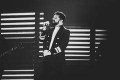 Ricky Martin in Prague Stock Photo