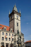 PRAGUE, CZECH REPUBLIC/EUROPE - SEPTEMBER 24 : Old City Hall Tow Stock Images