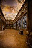 PRAGUE, CZECH REPUBLIC - FEBRUARY 20, 2013: The Theology library royalty free stock image