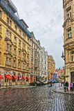 People on Kozi Street in Old Town of Prague Stock Images