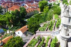Prague, Czech Republic. Ledeburska Garden, Prague, Czech Republic Stock Photo
