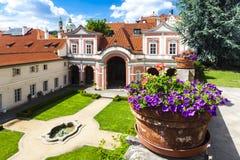 Prague, Czech Republic. Ledeburska Garden in Prague, Czech Republic Stock Photos