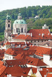 Prague, Czech Republic, Main view of the Mala Strana district. Royalty Free Stock Photography