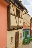 Golden Lane in Prague royalty free stock images