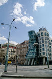 Prague, Czech Republic - May 8, 2012: Modern building, also know royalty free stock photography
