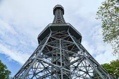 Eiffel Tower in Prague Royalty Free Stock Photos