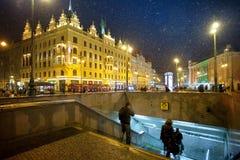 Prague, Czech Republic - Namesti Republic royalty free stock photo