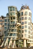 The Dancing House. At Prague- Czech Republic - On 07/26/2015 - Nationale-Nederlanden building better known as The Dancing House or Fred and Ginger, on the Ra Royalty Free Stock Photography