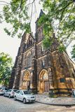 View of Vysehrad fort, Czech Republic Stock Photography