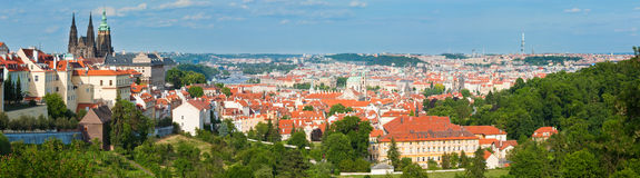 Prague, Czech Republic,  panorama. Royalty Free Stock Image