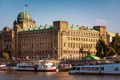 PRAGUE, CZECH REPUBLIC - SEPTEMBER 09, 2016: Ministry of Industr Stock Images