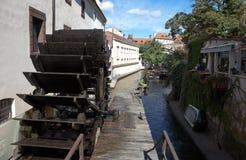 PRAGUE, CZECH REPUBLIC-SEPTEMBER 05, 2015: Photo of Sculpture Kabureka, Czech water. Stock Photos