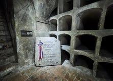 PRAGUE, CZECH REPUBLIC - SEPTEMBER 4, 2017. St. Cyril & Methodius Crypt - Heydrich Terror Memorial, Prague, Czech Republic. St. Cyril & Methodius Crypt Royalty Free Stock Image