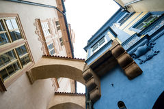 Prague, Czech Republic. Some of the old Prague buildings Royalty Free Stock Photography