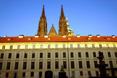 Prague. Czech Republic in the sunset royalty free stock image