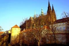 Prague. Czech Republic in the sunset royalty free stock photos