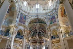 St Nicholas Cathedral Old Town Prague Royalty Free Stock Photos