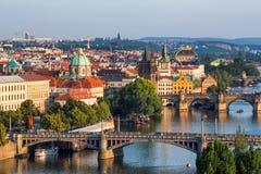 Prague,  Czech Republic. View of Prague, Czech Republic Stock Images