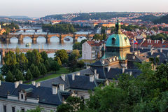 Prague,  Czech Republic. View of Prague, Czech Republic Royalty Free Stock Images