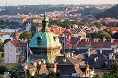 Prague,  Czech Republic. View of Prague, Czech Republic Royalty Free Stock Photos