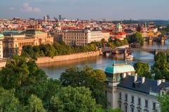 Prague,  Czech Republic. View of Prague, Czech Republic Stock Photos