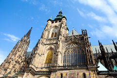 Prague, Czech Republic. View on the Cathedral on Hradcany Royalty Free Stock Photos