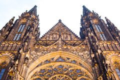 Prague, Czech Republic. View on the Cathedral on Hradcany Stock Photo
