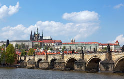 Prague, Czech Republic. View on old town. Stock Photo