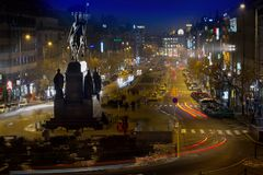 Prague, Czech Republic - Wenceslas Square royalty free stock photo