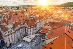 Prague Czechia Old Town Stock Photography
