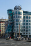 Prague. Dancing House or Fred and Ginger Stock Image