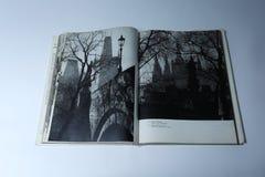 Prague dans le livre d'images par Karel Plicka Île de Kampa photos libres de droits