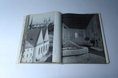 Prague dans le livre d'images par Karel Plicka Chapelle de Bethlehem Photographie stock libre de droits