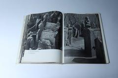 Prague dans le livre d'images par Karel Plicka Cimetière juif Photos stock