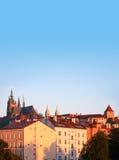 Prague At Dawn Stock Photo