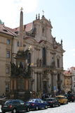 _Prague de Mala Strana de church_ de Saint-Nicolas Images stock