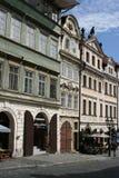_Prague de rue de Nerudova Image stock