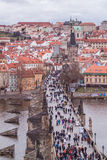 Prague in december Royalty Free Stock Photos